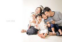 家族写真-構成