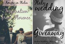 Italy Wedding Giveaway / MWH teams up with Amore Italia to help you win the chance of lifetime! Here's some inspiration for what could be YOUR wedding in romantic Italy - Talk about a destination wedding! For more >>>> http://modernweddingshawaii.com/italy-wedding-giveaway-1/ / by Moana Events
