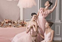 A wedding at the Ballet... / Ballet inspired wedding...For the princess in all of us...