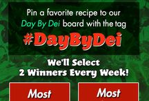 Day by Dei / Pin your favorite #tomato recipe or tomato thought to this board using #DaybyDei for a chance to win a Dei Fratelli Power Prize Pack! Two winners will be chosen weekly based on 1) Most Re-pins and 2) Most Delicious/Unique Recipe...happy pinning! / by Dei Fratelli