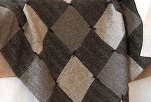одеяло из твида