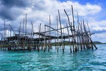 Beach hopping on Batam's Galang Island / Galang Island in Batam has some beaches worth visiting via short boat trips.