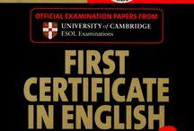 First certyficate