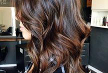 Cheveux Chocolat