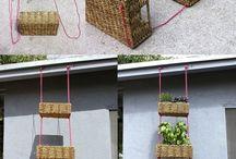 *Pflanzen- und Blumenampel* / Tolle DIY-Ideen für Blumenampeln, Hängeampeln und kreative Pflanzenampeln.