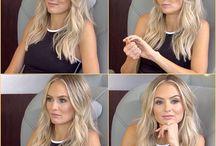 Hår blond