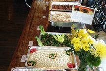 Toum Catering / We cater to all kinds of events. Whether it be a wedding, an office lunch or happy hour, or a birthday, we'll be there! Our staff or truck are always available.