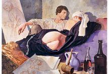 Milo Manara (1945) Il Pittore e la Modella / Il Pittore e la Modella
