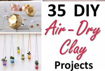 air dry and sculpey