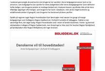 Nyheder / I dette board vil alle analyser og nyheder fra Boligdeal.dk blive delt!