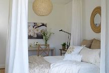 Bedroom ideas / Ceiling canopy