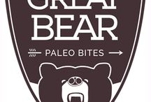 Great Bear Bites - Hear Them Roar! / A BC Brand for the Grizzly Within! Gluten-Free! Nut-Free! Egg-Free! Soy-Free! Vegan! Paleo! Organic! Non-GMO!