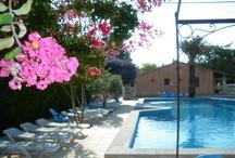 Piscine Pool Camping Pegomas / Voici la piscine du camping Pegomas.  Here is our nice swimming pool.