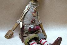 art dolls/puppets/sculpture
