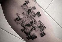 cropped image tattoos