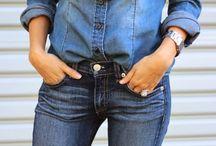Koszule Jeansowe