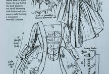 Dusty old sewing patterns