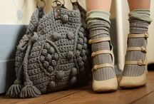 Crochet and Knitted Bags / by Marianna Di Ferdinando