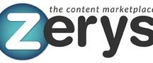 Websites / Zerys.com The Content Marketplace / by Zerys Content Marketplace