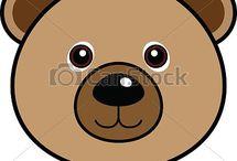 cara de oso