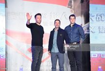Henry Cavill at the Batman V Superman Press Conference in Beijing / Henry Cavill, Ben Affleck and director Zack Snyder attended the press conference dedicated to the Batman V Superman: Dawn of Justice in Beijing, China on March 11, 2016.