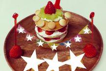 誕生日 お料理