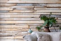 Декоративные деревянные стены / Недавний наш пост об осеннем декоре стал источником вдохновения для еще одной темы…