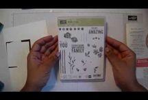 Painted petals card tutorial