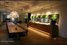 Vertical Plants Sytem AB. / Beautiful Plant walls & Pictures.