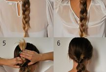 Easy 5 min hairstyles
