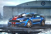 Concept Cars / Futuristic cars featuring latest technology and design - straight from the latest motor shows