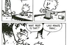 calvin&hobbes by bill watterson / chossen with care ;)
