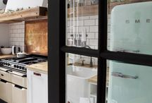 Keuken met smeg