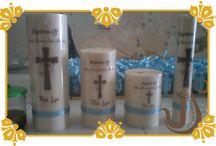 Baptis Emma Timu / Baptis Emma Timu menggunakan souvenir lilin produksi kami. Semoga acaranya lancar.