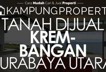 Tanah Dijual / Disewakan di Surabaya Utara