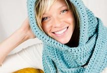 Crochet Scarves/Scoodies