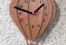 Saat / Lazer, CNC Kesim Masa ve Duvar saatleri
