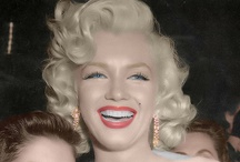 Ms. Marilyn Monroe / My all time favorite inspirational woman! / by Callie Baker
