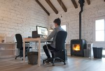 Wood Pellet Stoves for Offices and Design Inspiration / creating #inspirational #office# interior# designs Heat your office with a #Wood heating #Stove. Find cutting edge ideas and high performance options right here!