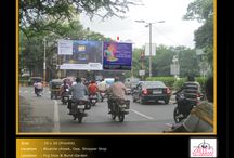 Hoardings in Pune / To book hoardings contact us on - +91 9890801841 | www.aimadvertising.in