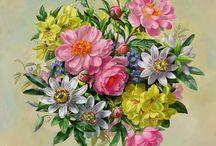 Цветы-картинки для декупажа