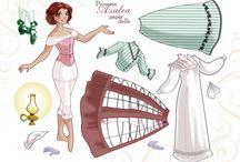Paper Doll - Fantasy, Princess