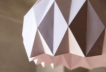Papierowe lampy