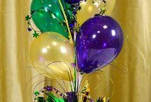 шары украшение на стол