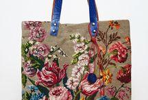 cross stitch bags