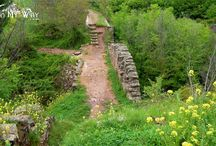 Ancient Bridges of Spain / On the Camino de Santiago, The French Way, The Northern Way