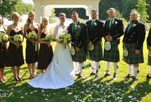 Dreamy Tartan Weddings / THE most drool-worthy Scotland-infused weddings we've seen! I love me some tartan!
