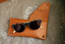 Drift Eyewear / Our feature collection today is MADE IN THE USA. Drift Eyewear started with laminated maple temples cut from a retired skateboards and rooted the business in the idea that glasses can be more than just functional accessories. Since that time they added Barn wood, Drift wood and Ship wood. The brand is clean, smart and earthy for a very wearable look. #DriftEyewear #woodglasses #madeinusa