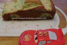 Alexanders 3 års tårta