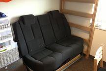 car backseat sofa